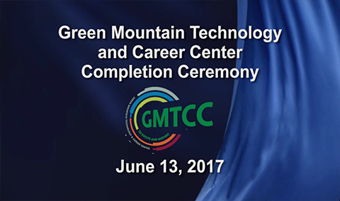 Green Mountain Technology and Career Center Completion Ceremony, 2017