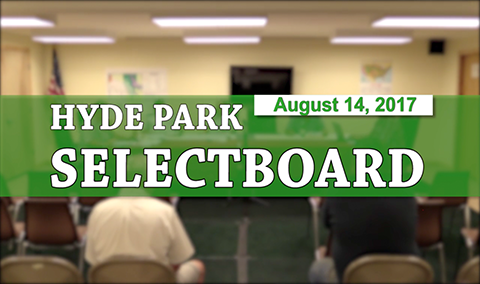 Hyde Park Selectboard, 8/14/17