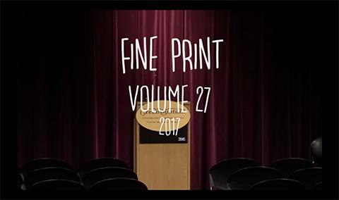 Fine Print, 2017