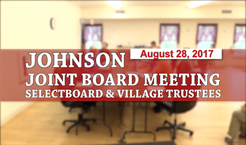 Johnson Joint Board Meeting, 8/21/17