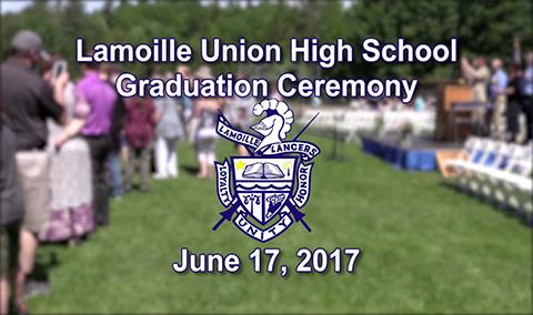 Lamoille Union High School Graduation, 2017