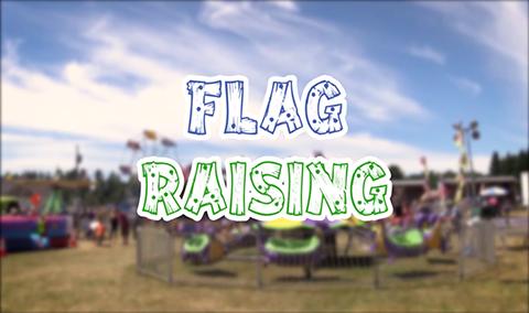 Field Days, 2017 – Flag Raising