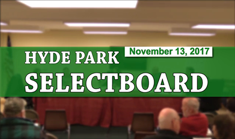 Hyde Park Selectboard, 11/13/17