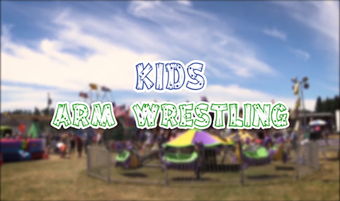 Field Days, 2017 – Kids Arm Wrestling