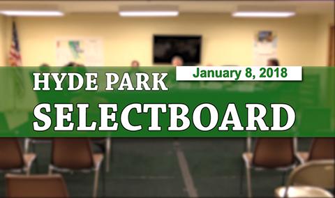 Hyde Park Selectboard 1/8/18