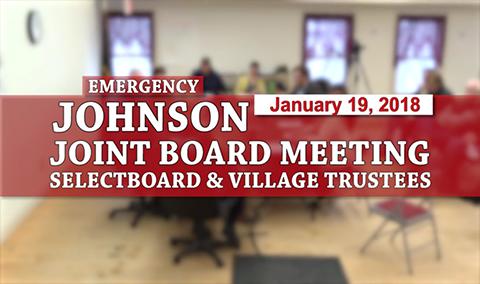 Johnson Joint Board Meeting 1/19/18