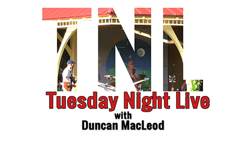 Tuesday Night Live, 2017 – Duncan Macleod