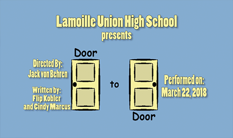 Lamoille Union High School Presents: Door to Door