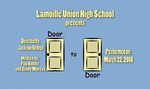 Lamoille Union High School Presents: Door to Door