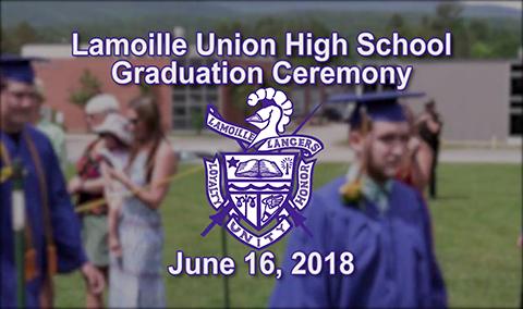 Lamoille Union High School Graduation, 2018