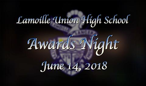 Lamoille Union High School Senior Awards Night, 2018
