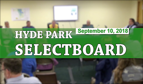 Hyde Park Selectboard, 9/10/18