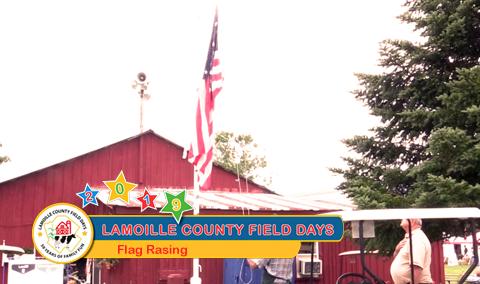 Field Days, 2018 – Flag Raising