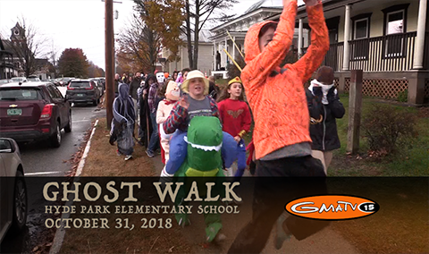 Hyde Park Elementary Ghost Walk, 2018