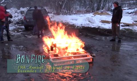 Festival of Lights, 2018 – Bonfire