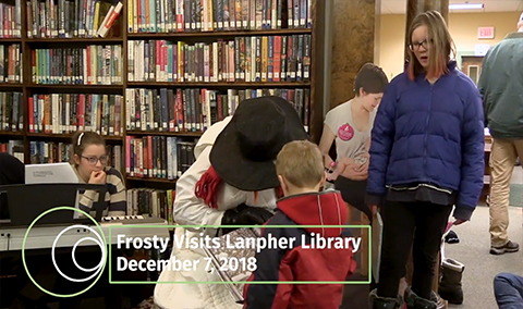 Hyde Park Community Circle, 2018 – Frosty Visits Lanpher Library