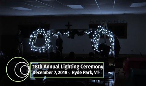 Hyde Park Community Circle, 2018 – Lighting Ceremony