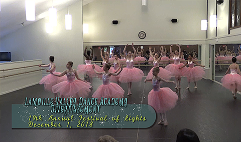 Festival of Lights, 2018 – Lamoille Valley Dance Academy Divertissement