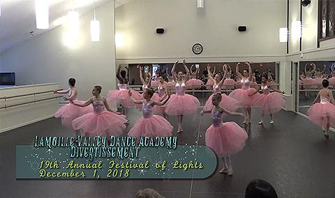 Festival of Lights, 2018 – Lamoille Valley Dance Academy Divertissement