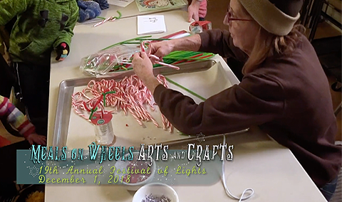 Festival of Lights, 2018 – Meals on Wheels Arts and Crafts