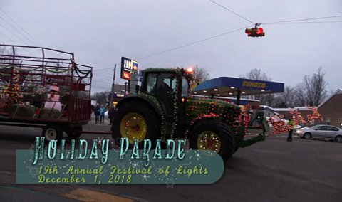 Festival of Lights, 2018 – Holiday Parade
