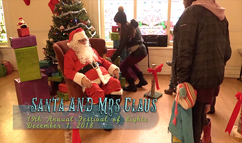 Festival of Lights, 2018 – Santa and Mrs. Claus