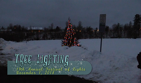 Festival of Lights, 2018 – Tree Lighting