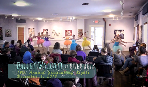Festival of Lights, 2018 – Ballet Wolcott at River Arts
