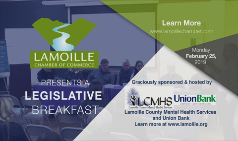 Legislative Breakfast, 2/25/19