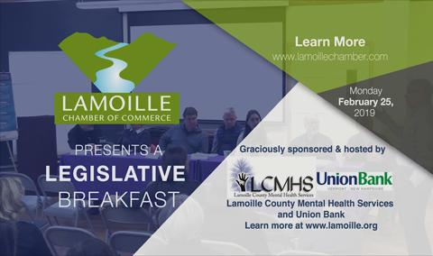 Legislative Breakfast, 2/25/19