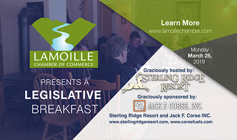 Legislative Breakfast, 3/25/19
