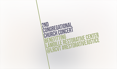 Second Congregational Church Lamoille Restorative Center Benefit, 10/19/18