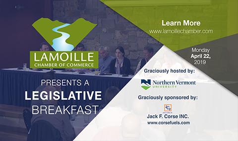 March Legislative Breakfast, 4/22/19