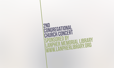 Second Congregational Church – Rick Norcross