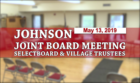 Johnson Joint Board Meeting, 5/13/19