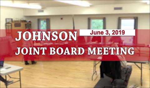 Johnson Jointboard Meeting, 6/3/19