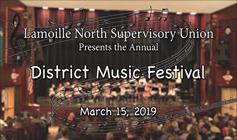 Lamoille North Supervisory Union, Elementary District Music Festival, 2019