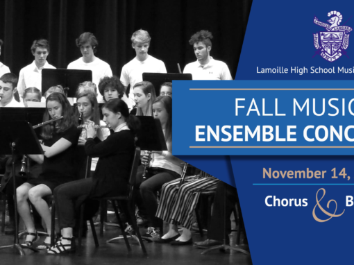 Lamoille Union High School Fall Music Ensemble Concert, 2019