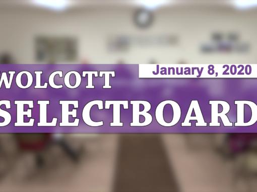 Wolcott Selectboard, 1/8/20