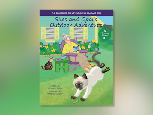 "Grannie Snow reads ""Silas and Opal's Outdoor Adventure"""