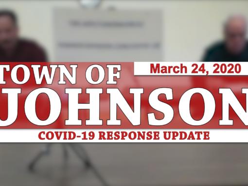 Johnson COVID-19 Response Update #2, 3/24/20