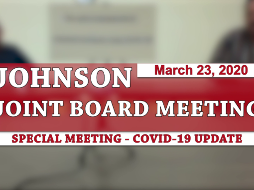 Johnson Joint Board Meeting, 3/23/20 (Emergency Meeting)