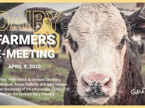 Dairy Farmers E-Meeting, 4/9/20