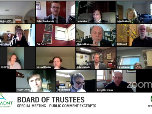 VSCS Board of Trustees – Random Sample of Public Comments, 4/20/20