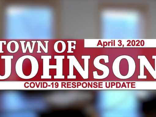 Johnson COVID-19 Response Update #4, 4/3/20