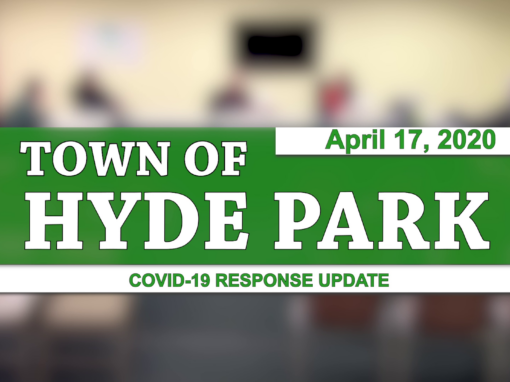 Hyde Park COVID-19 Response Update #4, 4/17/20