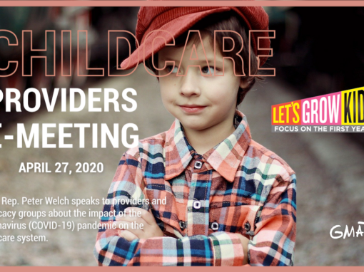 Let's Grow Kids – Childcare Providers E-Meeting, 4/27/20
