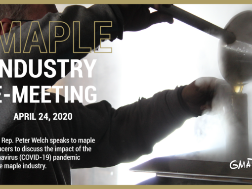 Vermont Maple Industry E-Meeting, 4/24/20