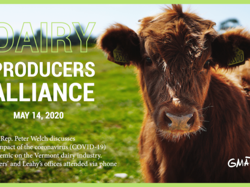 Vermont Dairy Producers Alliance, 5/14/20