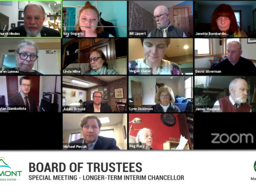 VSCS Board of Trustee Special Meeting, 5/11/20